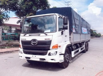 Bán xe Hino tải mui bạt bửng nhôm cao cấp