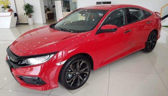 Cần bán xe Honda Civic năm sản xuất 2019, màu đỏ, xe nhập, giá tốt