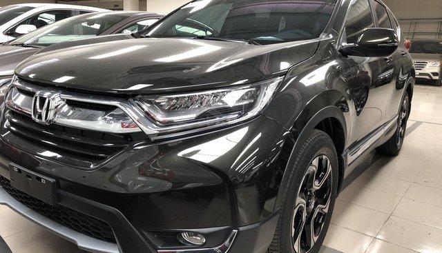 Bán Honda CR V G 2019, màu xanh lục, chỉ cần 300Tr nhận xe ngay, vay ngân hàng bao đậu
