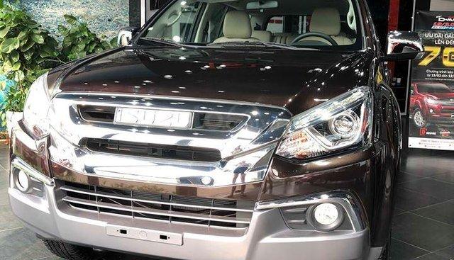 Bán xe Isuzu Mux 1.9 MT 4x2 đời 2018, màu nâu, nhập khẩu, giá 780 triệu