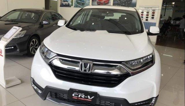 Bán Honda CR V 2019, màu trắng, xe nhập, giá chỉ 983 triệu