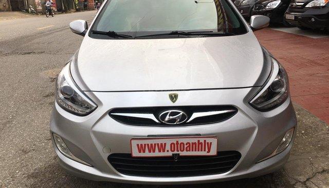 Bán Hyundai Accent đời 2014, màu bạc, nhập khẩu
