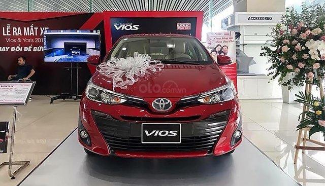 Bán Toyota Vios 1.5G sản xuất 2019, màu đỏ, mới 100%