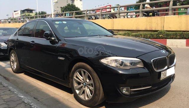 Cần bán lại xe BMW 5 Series 520i 2013, màu đen, xe nhập