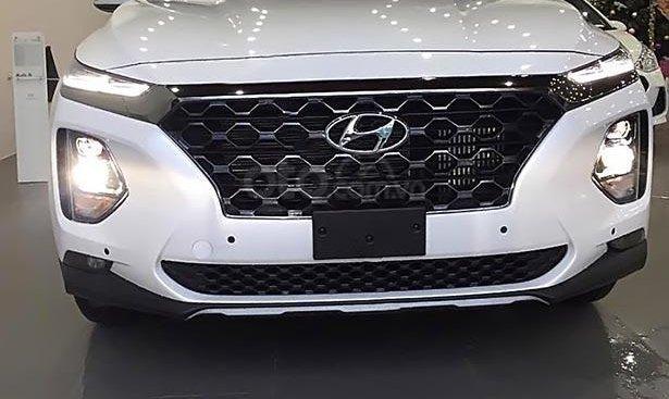 Hyundai Vinh bán Hyundai Santa thế mới máy dầu, số tự động, mẫu xe 2019