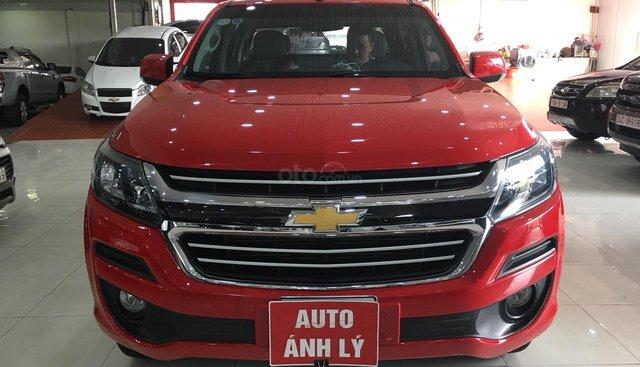 Bán Chevrolet Colorado đời 2017, màu đỏ, nhập khẩu