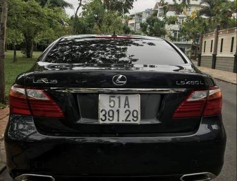 Cần bán gấp Lexus LS 460L năm 2009, màu xám, xe nhập xe gia đình