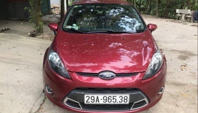 Cần bán Ford Fiesta S 1.6AT 2013, màu đỏ, 370tr
