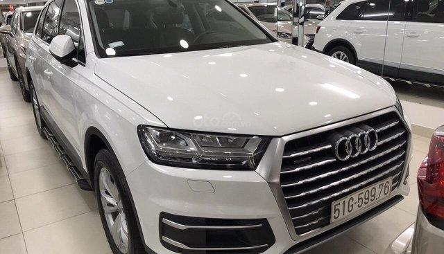 Bán Audi Q7 sản xuất 2016, đk 2017, xe đi lướt đúng 20.000km, cam kết chất lượng bao kiểm tra tại hãng Audi