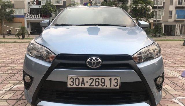 Bán Toyota Yaris E 1.3AT sản xuất năm 2014, màu xanh lam, xe nhập