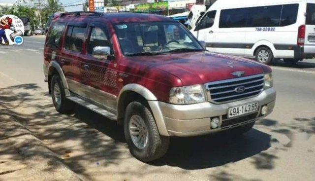 Bán Ford Everest 2005, màu đỏ, nhập khẩu, xe còn đẹp