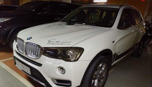 Bán BMW X3 xDrive 2017, màu trắng, xe gia đình