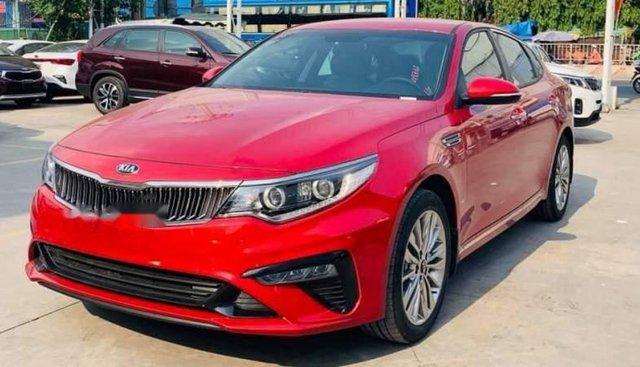 Bán xe Kia Optima sản xuất 2019, màu đỏ, giá 789tr
