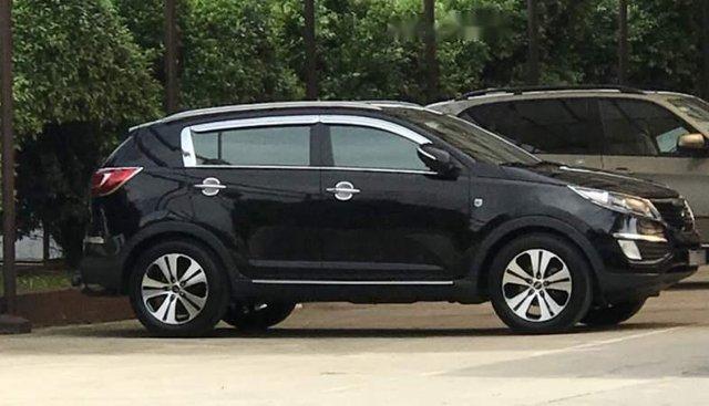 Bán Kia Sportage năm sản xuất 2012, màu đen, nhập khẩu ít sử dụng, 610 triệu