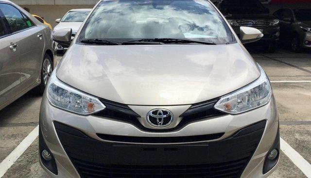 Toyota Tân Cảng hỗ trợ mua xe Vios 2019 trọn gói chỉ với 150 triệu - xe đủ màu giao ngay trong ngày -LH 0901923399