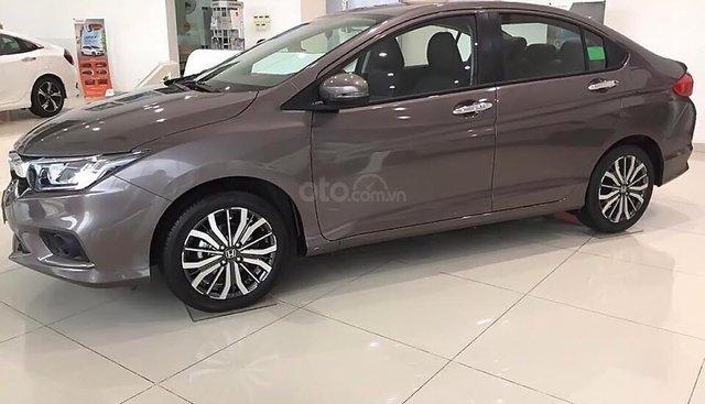 Bán ô tô Honda City 1.5TOP đời 2019, màu nâu, giá 599tr