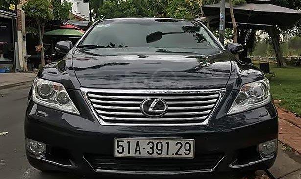 Bán xe Lexus LS 460L 2009, màu đen, xe nhập, máy êm ru