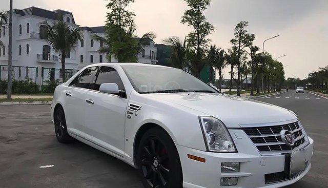 Cần bán lại xe Cadillac STS 3.6 AT năm 2008, màu trắng, nhập khẩu