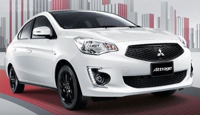 Bán xe Mitsubishi Attrage đời 2019, màu trắng, tại Quảng Trị, xe nhập, giá 475tr, hỗ trợ trả góp 80%