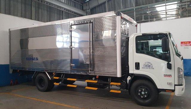 Bán xe tải Isuzu 5T5 thùng kín - NQR75LE4 sản xuất năm 2019
