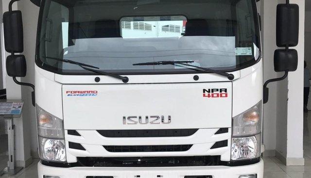 Cần bán xe tải Isuzu NPR85KE4 đời 2019, màu trắng.