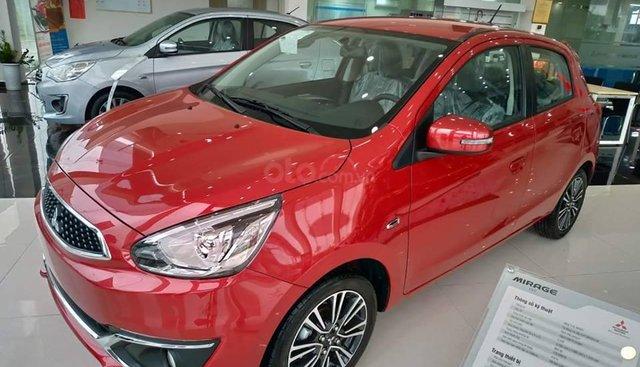 Bán Mitsubishi Mirage năm SX 2019, tại Quảng Trị màu đỏ, xe nhập, giá 450tr, hỗ trợ trả góp 80%