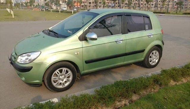 Bán Hyundai Click năm 2007, màu xanh lục, số tự động, giá chỉ 220 triệu