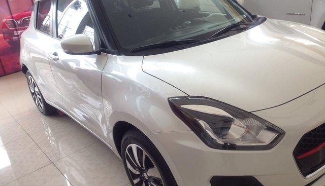 Bán Suzuki Swift GLX sản xuất năm 2019, màu trắng, nhập khẩu nguyên chiếc, 549tr