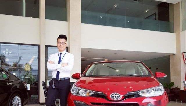 Bán Toyota Vios 2019, màu đỏ, giá chỉ 531 triệu