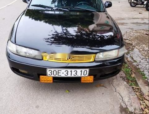 Cần bán Mazda 626 sản xuất 1997, màu đen xe gia đình, giá tốt