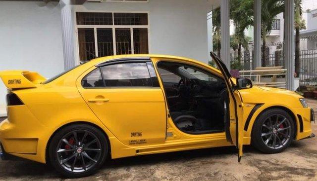 Cần bán gấp Mitsubishi Lancer EX Sport đời 2010, màu vàng, nhập khẩu nguyên chiếc