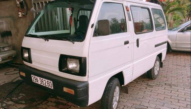 Bán xe Suzuki Super Carry Van 2002, màu trắng giá cạnh tranh