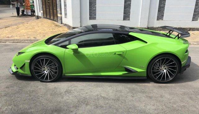 Bán xe Lamborghini Huracan 2014, màu xanh chính chủ