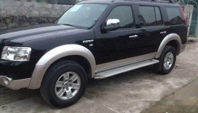 Cần bán xe Ford Everest sản xuất 2008, màu đen, máy móc nguyên zin, ít hao xăng