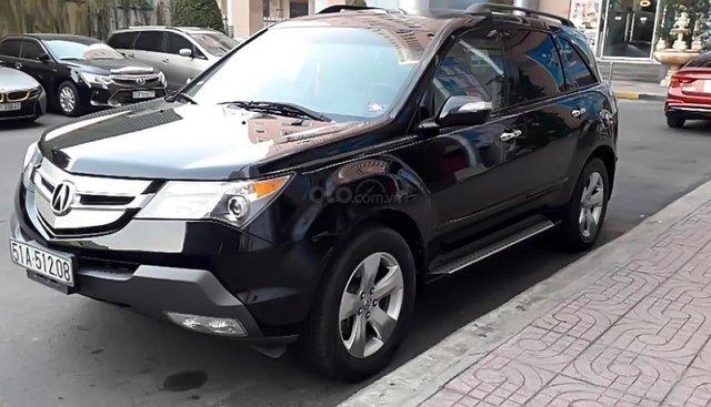 Bán Acura MDX SH-AWD sản xuất năm 2007, màu đen, xe đẹp, đi 108,000km
