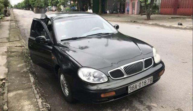 Bán Daewoo Leganza năm 2001, màu đen, xe nhập