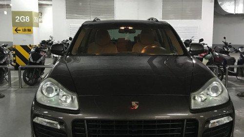 Bán Porsche Cayenne 4.8 V8 AT đời 2008, màu nâu, nhập khẩu nguyên chiếc