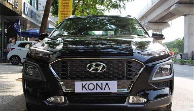 Cần bán xe Hyundai Kona 1.6 Turbo Sport đời 2019, màu đen, 725 triệu