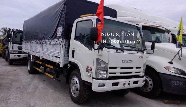 Bán Isuzu FN129 8,2 tấn, thùng dài 7m, trả trước 120 triệu