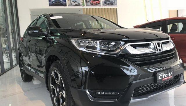 Honda CRV L đen 2019, xe giao ngay với nhiều quà tặng hấp dẫn, LH ngay 0909.615.944