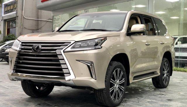 Bán Lexus LX 570 sản xuất 2019, vàng cát, Mr Huân 0981010161