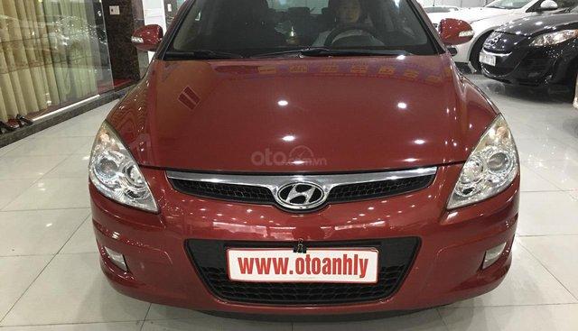 Bán ô tô Hyundai i30 sản xuất năm 2009, màu đỏ, xe nhập, giá chỉ 385 triệu