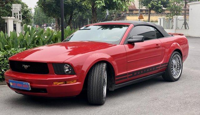 Bán xe Mustang Convertible 2008, màu đỏ, nhập khẩu