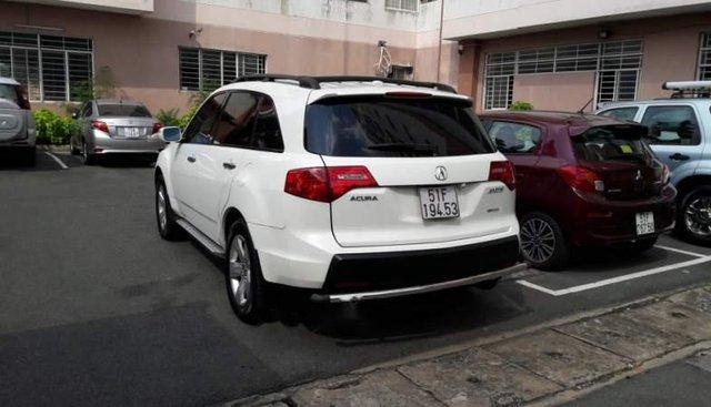 Cần bán lại xe Acura MDX năm 2008, màu trắng, nhập khẩu