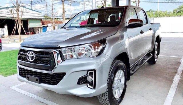 Toyota Hilux 2019 số tự động nhập Thái Lan, xe mới 100%, trang bị đầy đủ option
