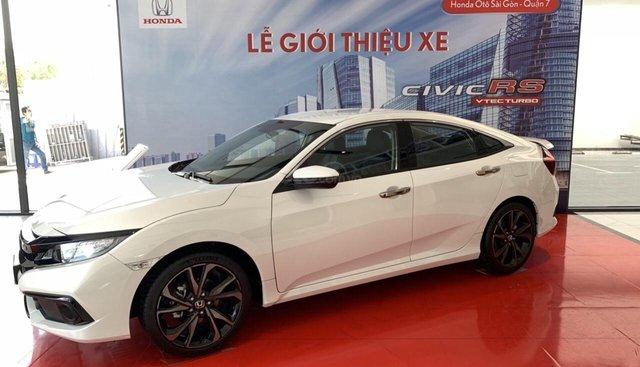 [Xe Honda Civic 1.5Rs giao ngay] màu trắng, cam kết giá tốt nhất khi liên hệ, LH 0933.683.056