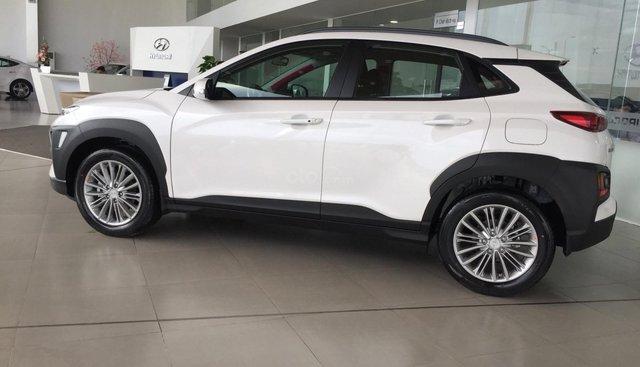 Bán Hyundai Kona năm 2019, màu trắng, xe nhập, giá rẻ nhất Đà Nẵng