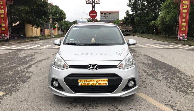 Cần bán Hyundai Grand i10 1.0 MT sản xuất 2014, màu bạc, nhập khẩu