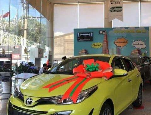 Bán ô tô Toyota Yaris Verso đời 2019, màu vàng, nhập khẩu nguyên chiếc giá cạnh tranh