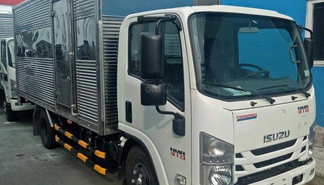 Cần bán xe Isuzu NMR 2019 thùng kín 1T9, màu trắng, nhập khẩu nguyên chiếc giá cạnh tranh